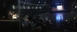 durante la conferencia de Expoweed