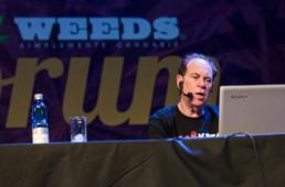 interpretar el ciclo de conferencias de la Expoweed