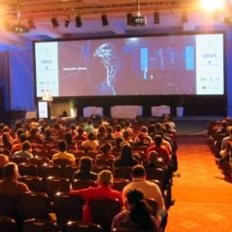 reunión de emprendimiento e innovación