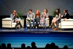 interpretación simultánea inglés - español evento Meetlatam