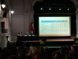 Interpretación simultánea inglés-español en el seminario internacional «Derribando mitos sobre los sistemas de reparto» - Filigrana Traducciones